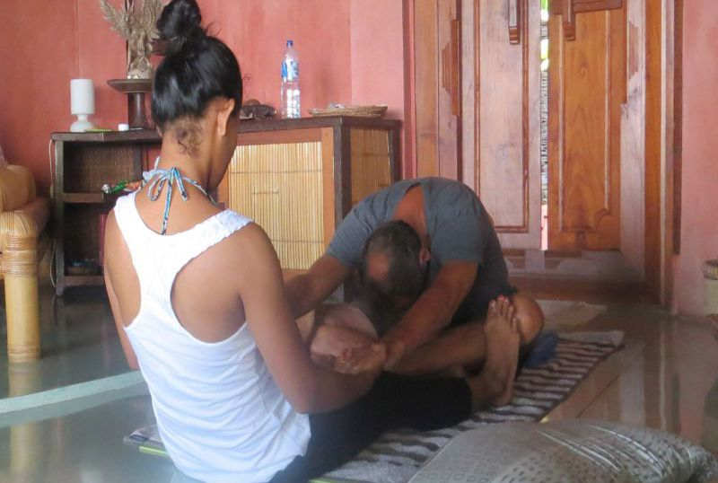 Yoga mit Trainerin