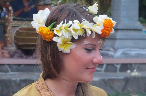 Hochzeitszeremonie Bali