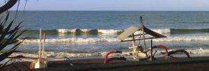 Jukung am Meer