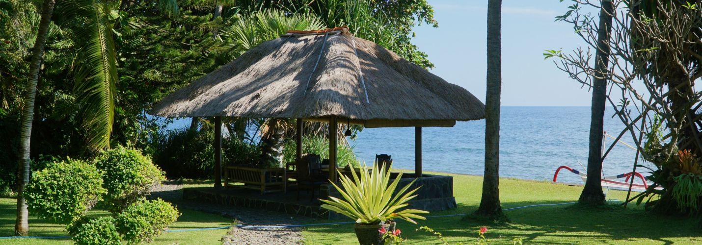 Villa Ost Balé mit Meer