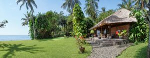 Villa Ost im tropischen Garten am Meer