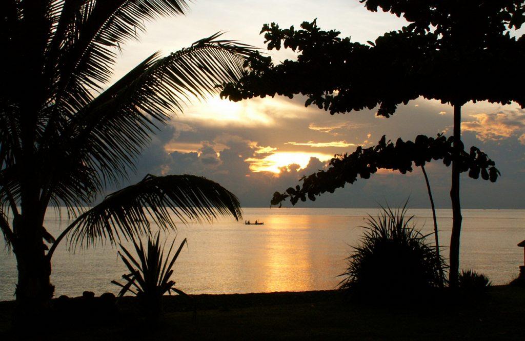 Sonnenaufgang am Beach