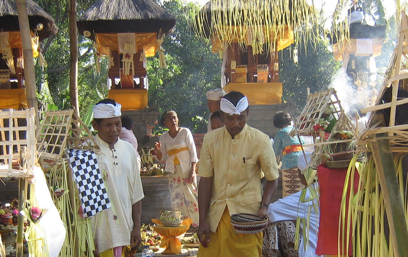 Balinesische Zeremonie