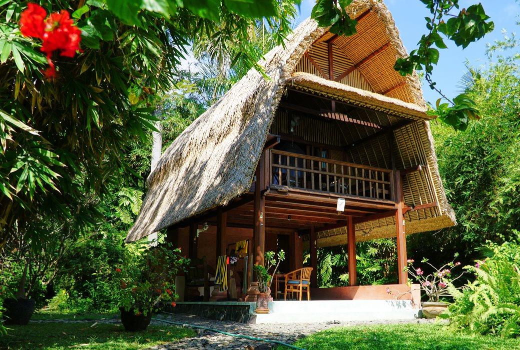 Bungalow in balinesischem Stil