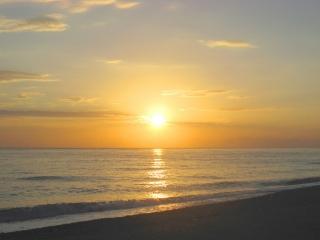 Sonnenaufgang am Strand